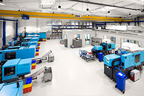 Produktionshalle von Dihse